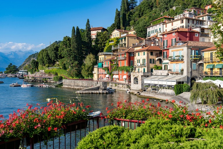 Lombardy, Lake Como. The colorful village of Varenna