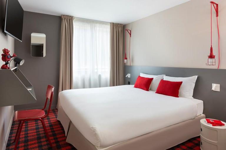 Guestroom at Rockypop Hotel