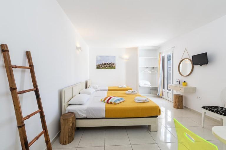 Guestroom at Artemoula's Studios