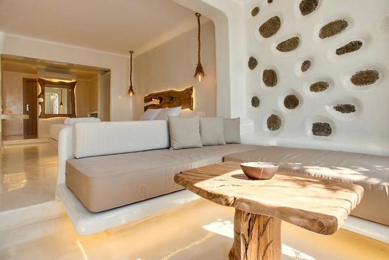 Guestroom at Villa Elina Suites and More