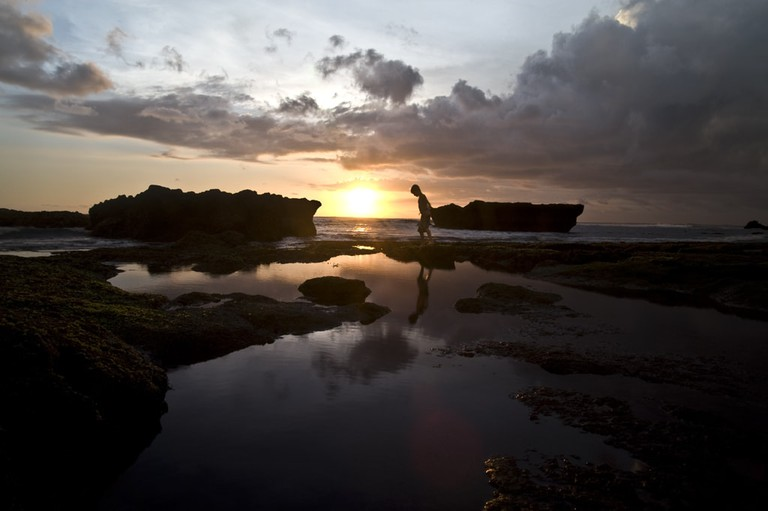 Enjoy the sunset at La Brisa in Echo Beach, Bali.