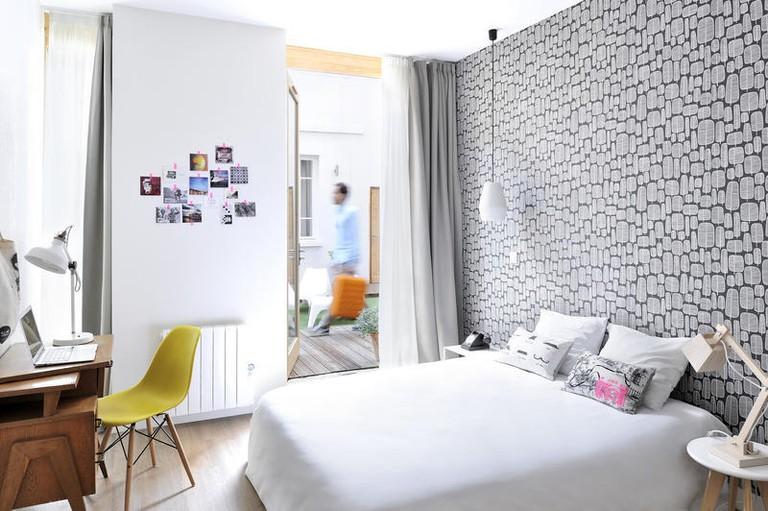SLO living hostel has 40 spacious guest rooms