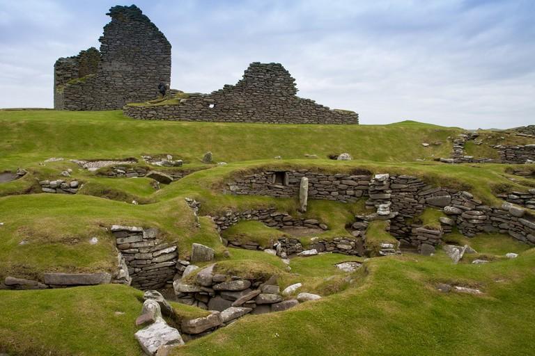 Jarlshof Prehistoric And Norse Settlement, Shetland