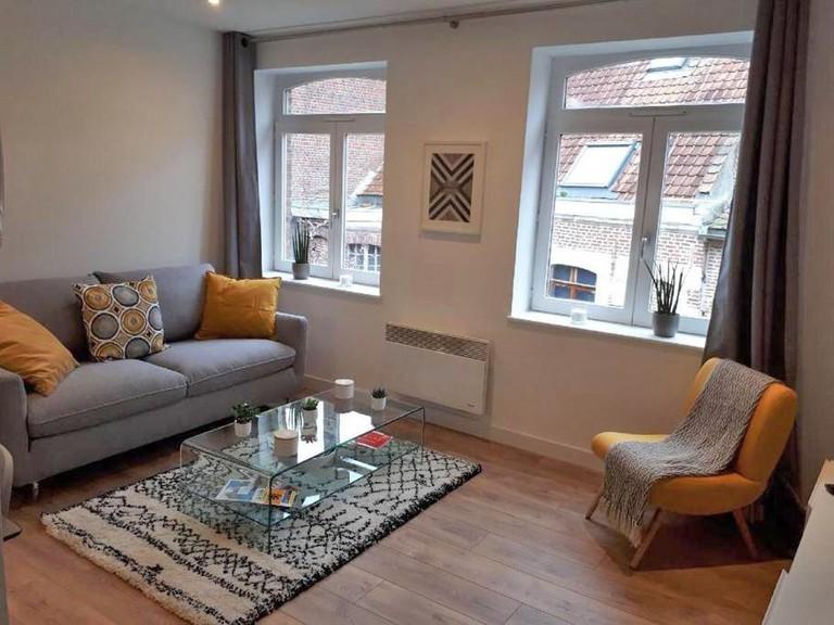 Living room at Quai du Wault Apartment