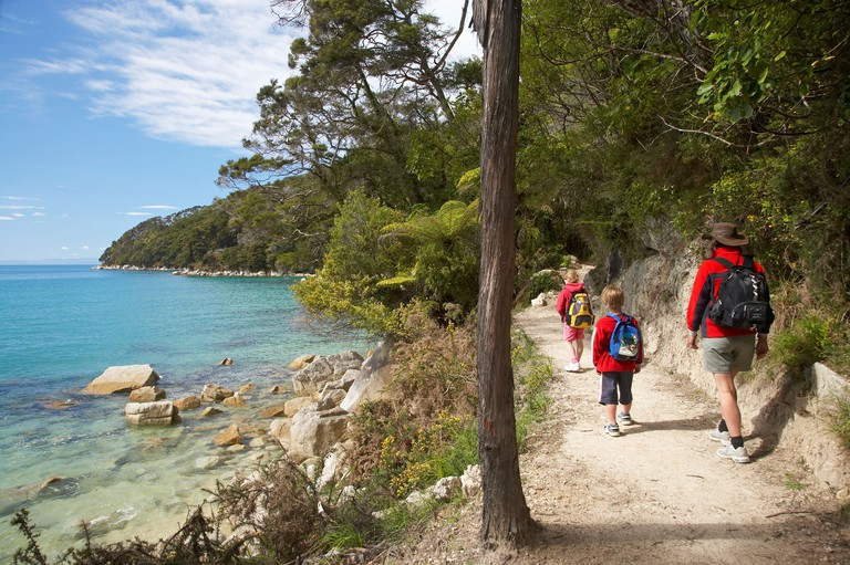 Walking the Abel Tasman Coastal Track