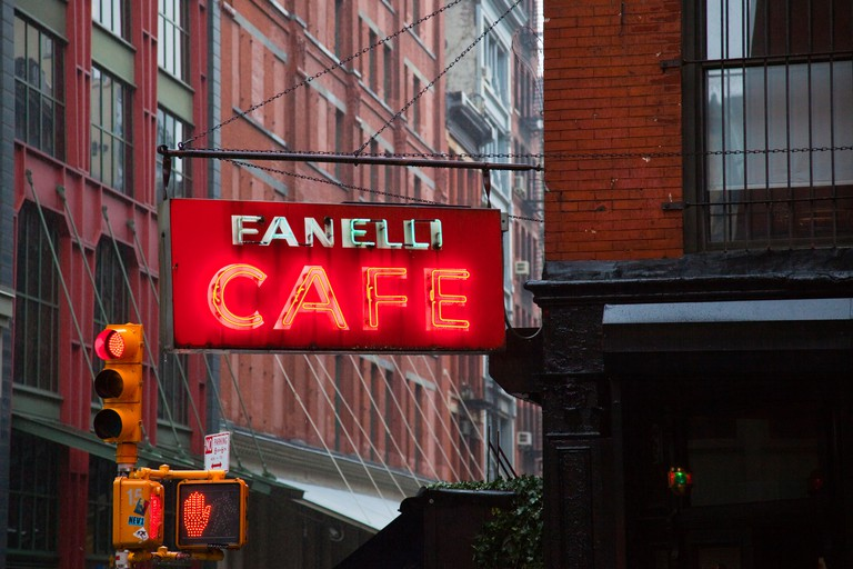 Fanelli Café opened in 1847