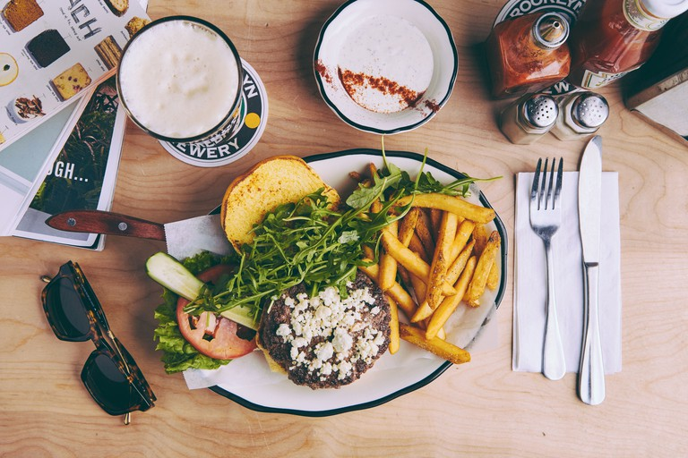 Black Tap_Greg Norman Burger_Credit Black Tap Craft Burger+Beer