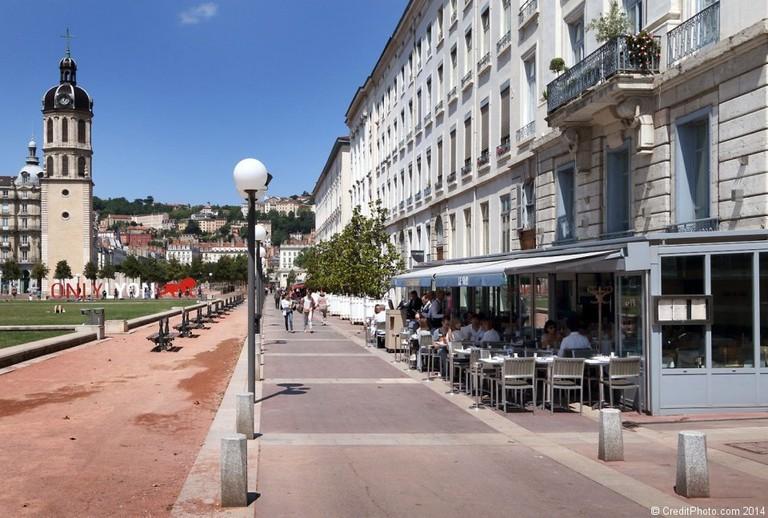 Brasserie Le Sud next to Place Bellecour   © creditphoto.com / creditphoto.com