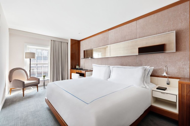 Guest room at Mr. C Seaport