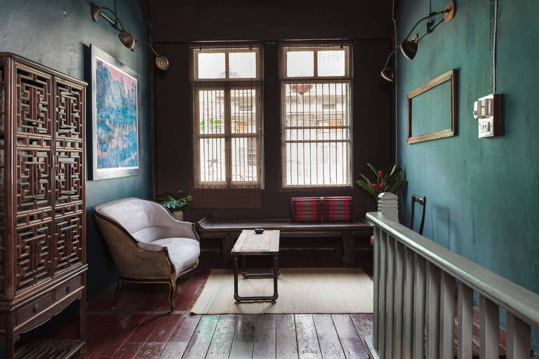Stay in an original shophouse in Chinatown