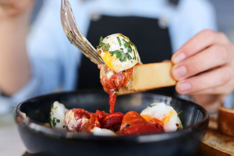 Chilli labne eggs at Porch and Parlour © Porch and Parlour