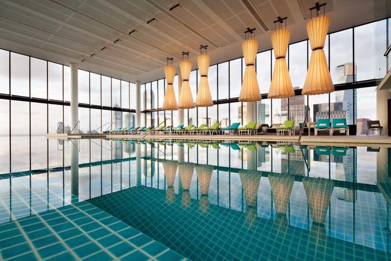 City views from Crown Metropol's pool