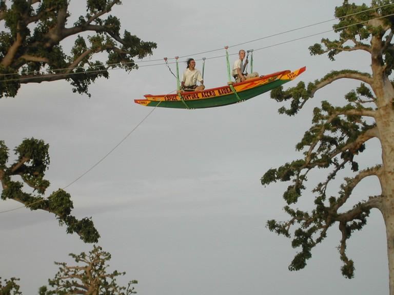 Copie de pirogue volante