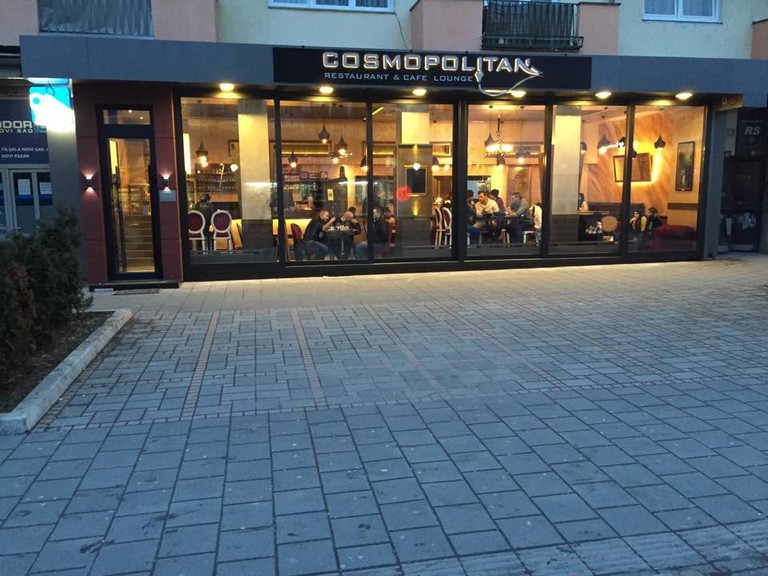 Cosmopolitan is one of the most popular cafes in Novi Pazar