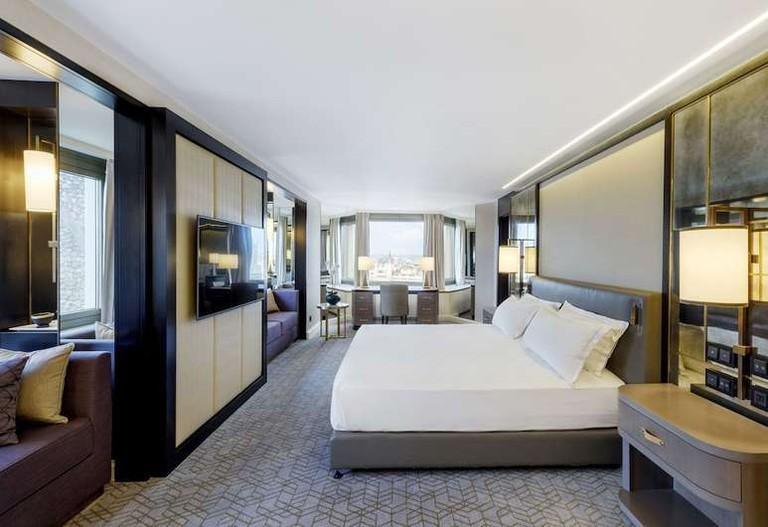 Suite at Hilton Budapest