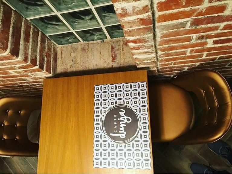Take a seat at Dunja Caffe