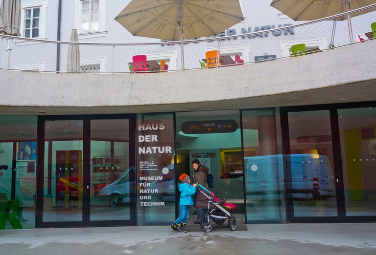 Haus der Natur, Natural history and science musem, Altstadt, old town, Salzburg, Austria
