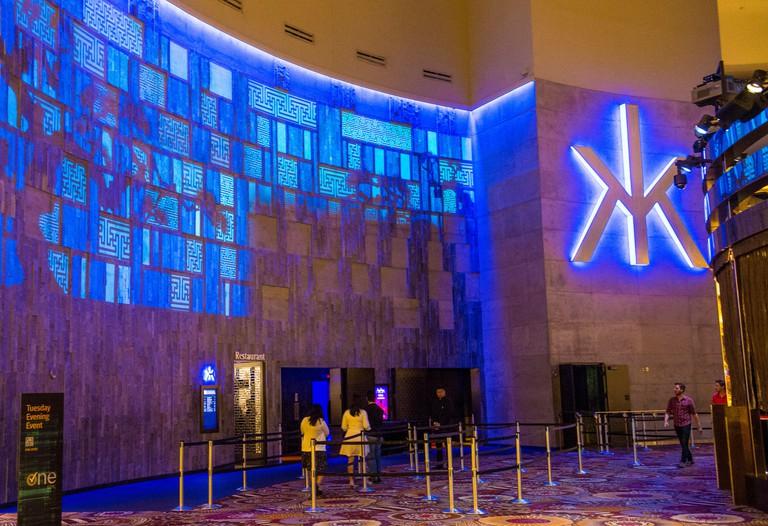 The Hakkasan Night club in MGM hotel in Las Vegas
