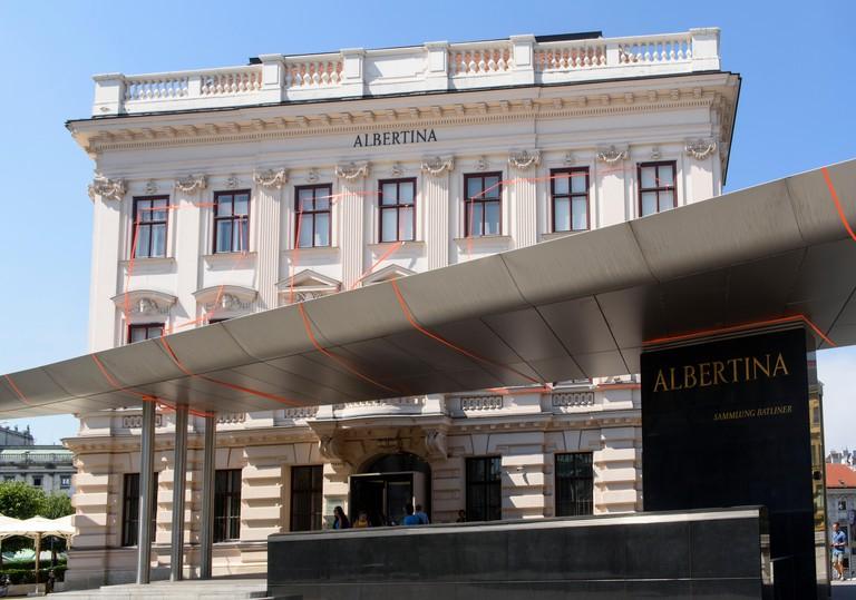 Palais Erzherzog Albrecht with art collection Albertina, Vienna, Austria, world heritage. Image shot 2015. Exact date unknown.