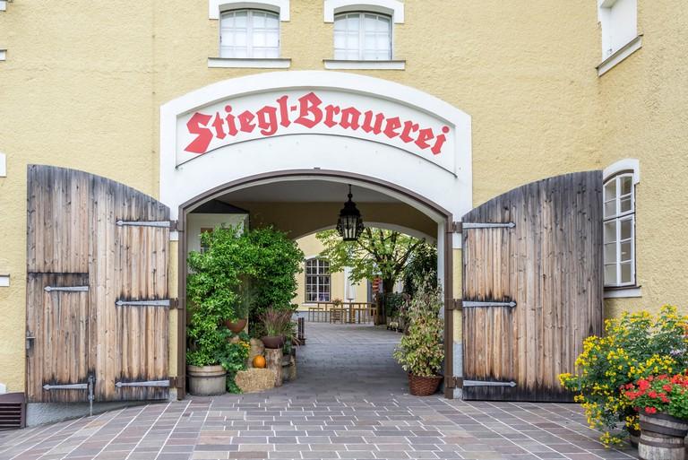 Stiegl Brauerei, brewery, Salzburg, Salzburg, Austria
