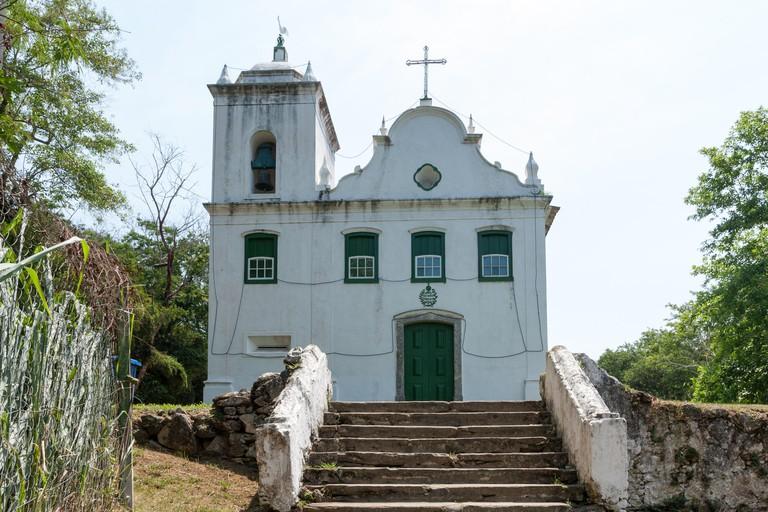 Igreja da Freguesia de Santana (Freguesia de Santana Church), Freguesia de Santana, Ilha Grande, Angra dos Reis, State of Rio de Janeiro, Brazil