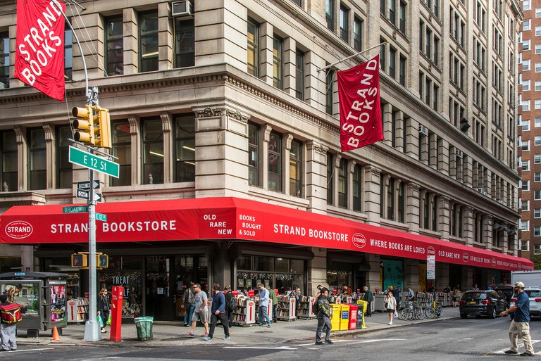 Strand Bookstore, East Village, Manhattan, New York, USA