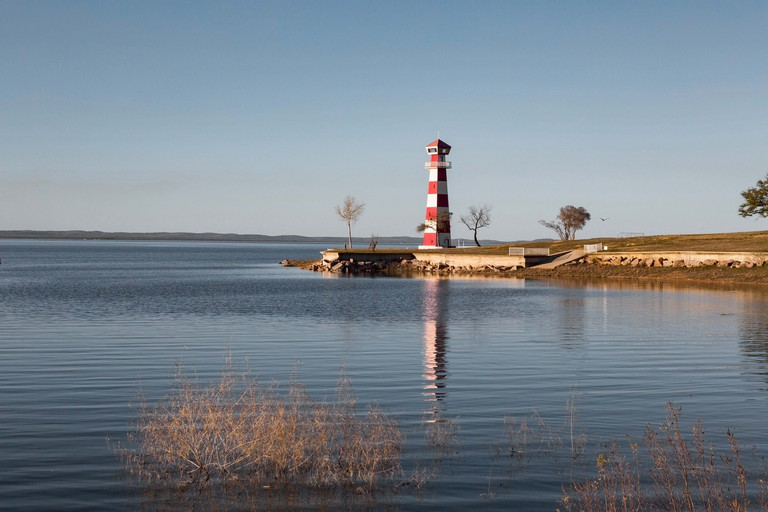 The lighthouse at Lake Buchanan,TX
