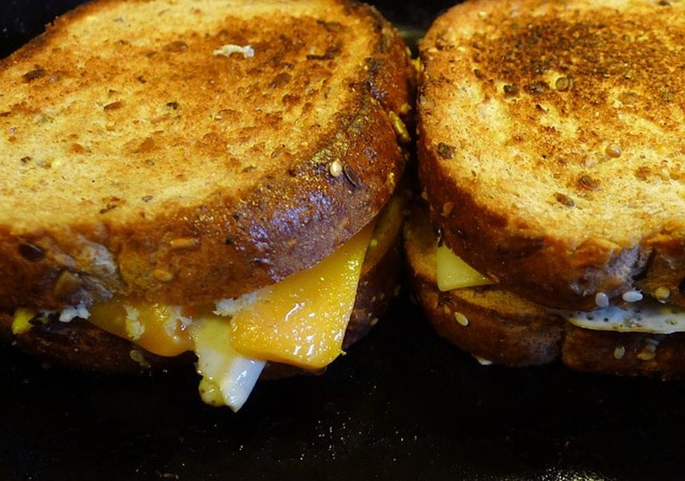 You can't beat a good cheese toastie