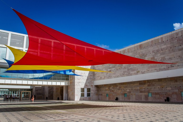Berardo Collection Museum, Lisbon, Portugal.