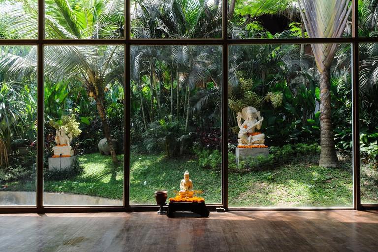 Kush spa in the Yoga Barn