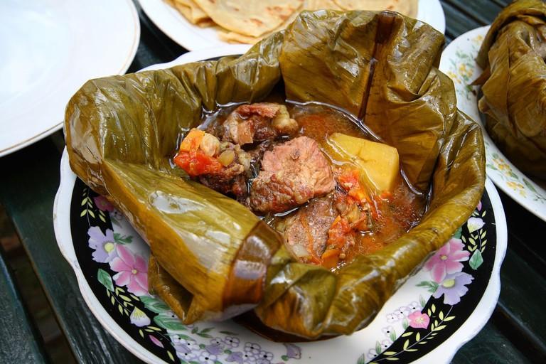 Luwombo - steamed beef