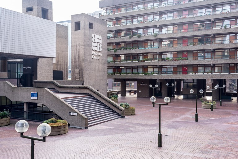 The Barbican Centre in London.