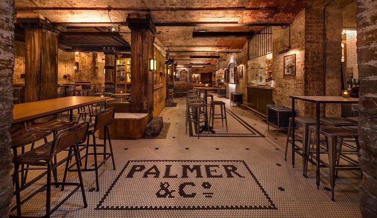 Palmer & Co interior © Palmer & Co