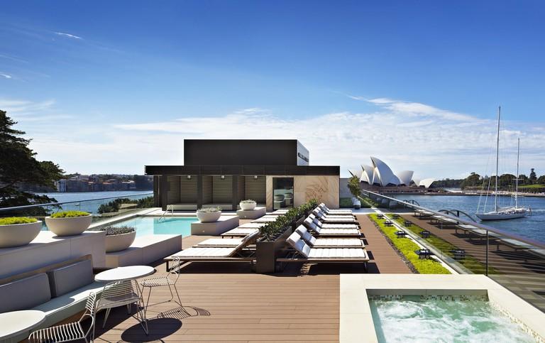 Park Hyatt rooftop pool © Park Hyatt