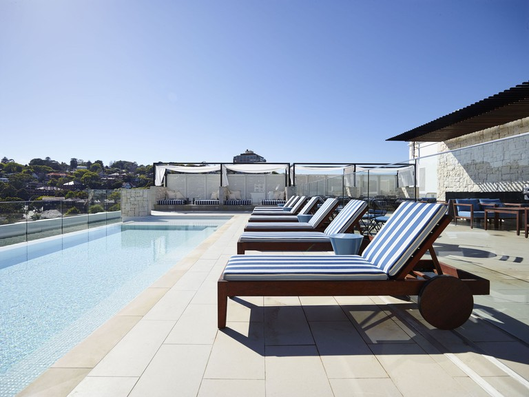 Rooftop pool at the InterContinental Sydney Double Bay © InterContinental