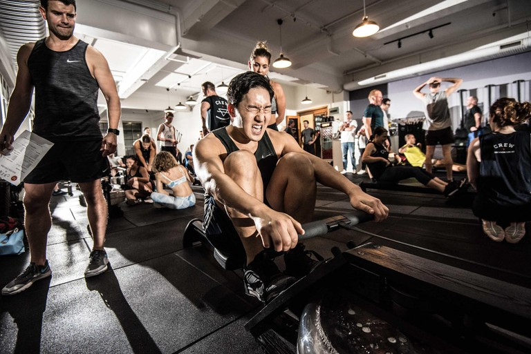 Rowing class at Crew © Crew