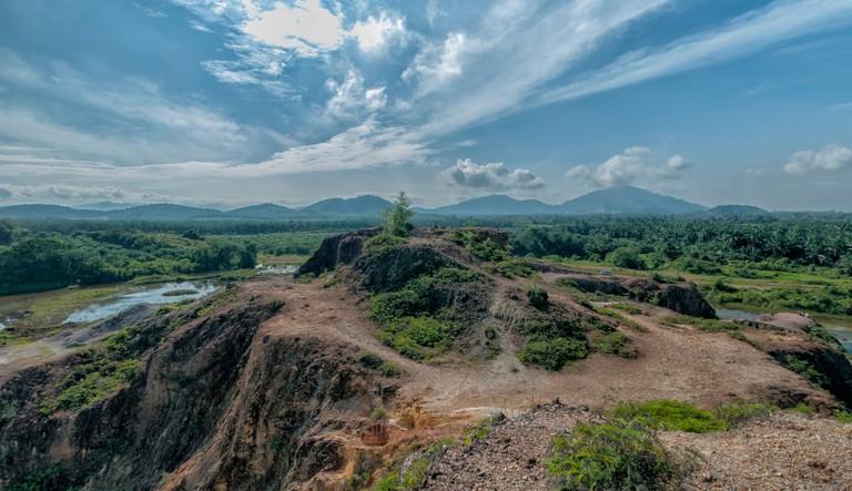 Frog hill bukit mertajam Penang, Malaysia.