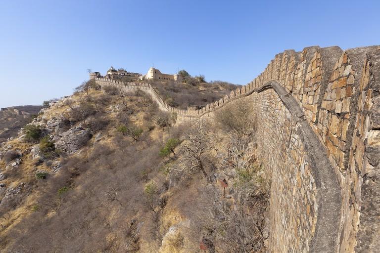 Alwar Fort in Rajasthan, India