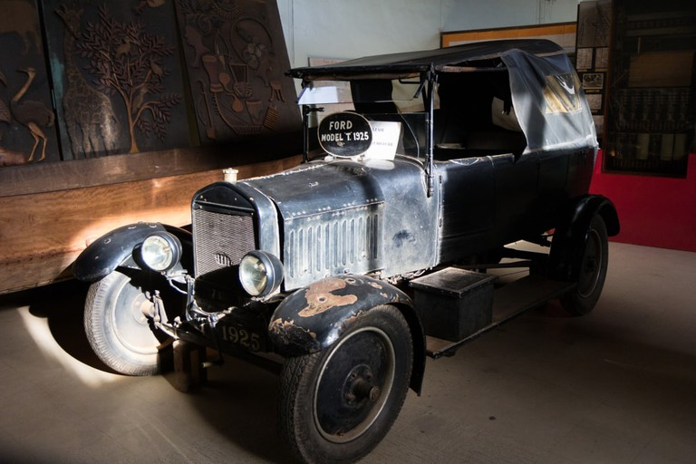 The Ford Model T from 1925. The Uganda Museum.