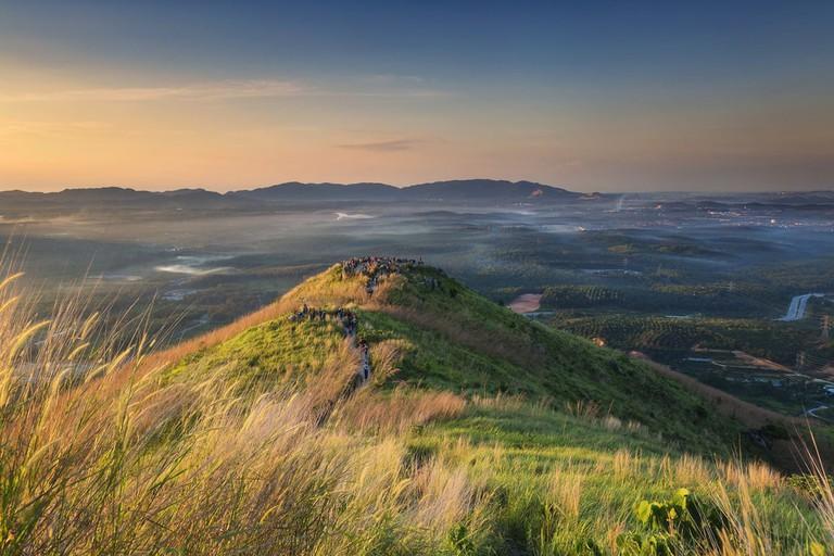 Sunrise at Broga Hill, Selangor