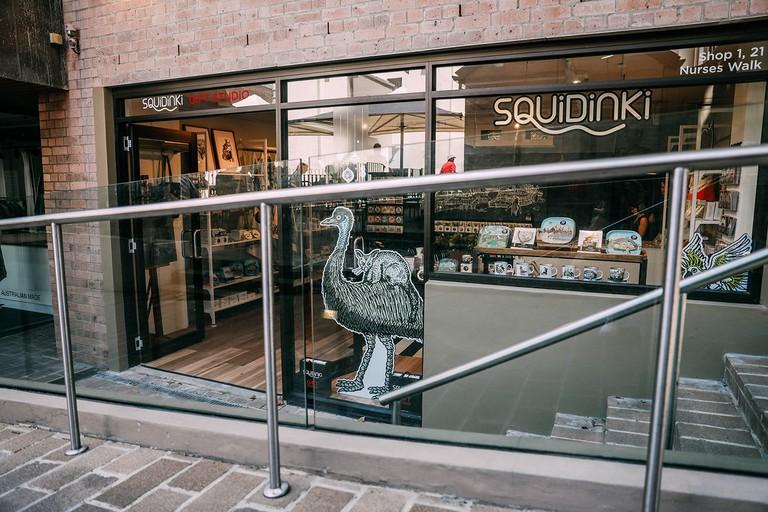 Squidinki shopfront © Squidinki