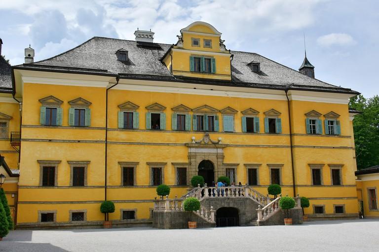 Hellbrunn Palace, Schloss Hellbrunn, Salzburg, Austria, Europe, UNESCO World Heritage Site