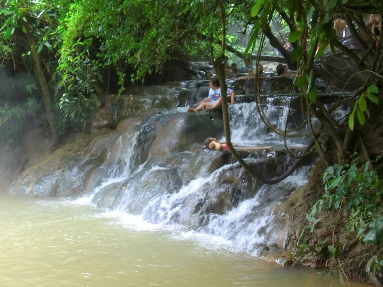Klong Thom Hot Springs in Krabi