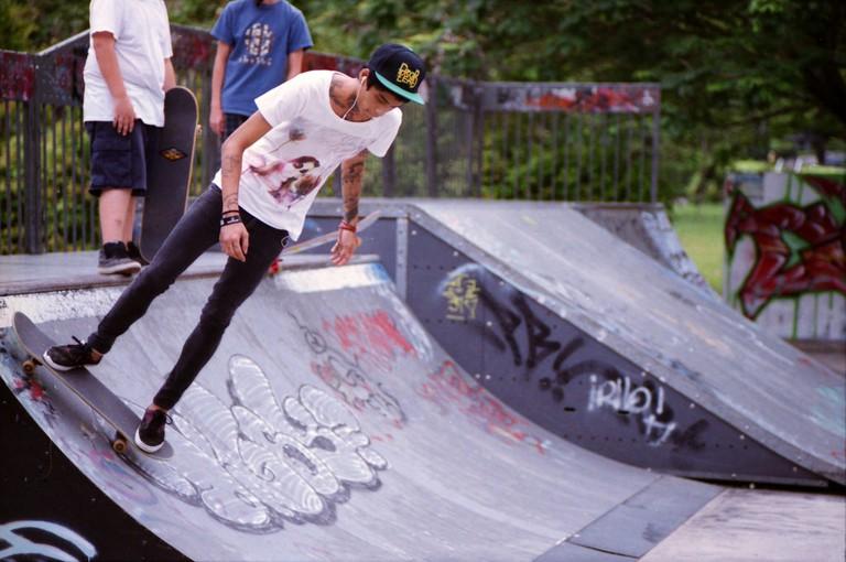Singapore Somerset Skate Park Graffiti