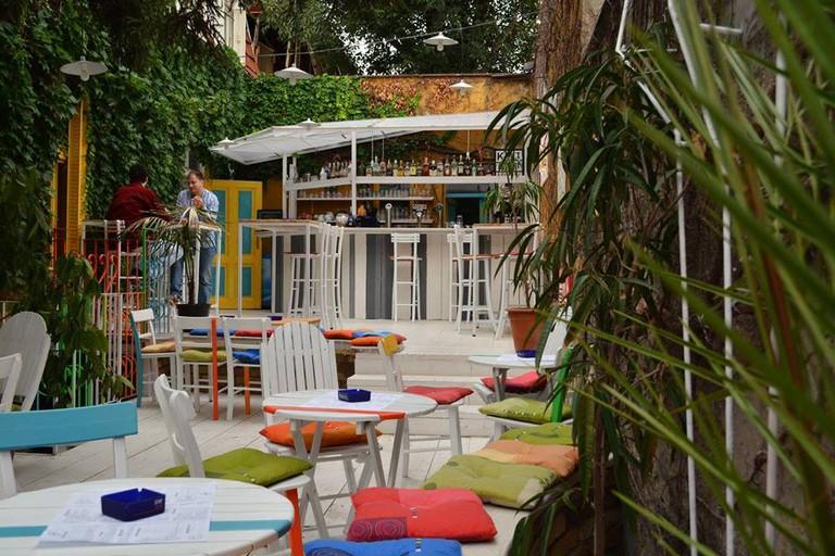The garden at Priča Bar
