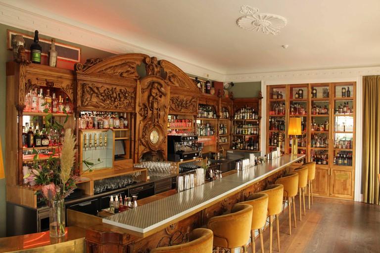 Celebrated creatives, including Hans Christian Andersen, have visited Brønnum's stylish bar