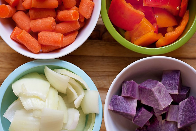 Chopped vegetables © Personal Creations / Flickr