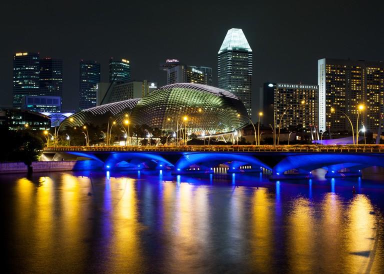 Esplanade, Theatres on The Bay, Singapore.