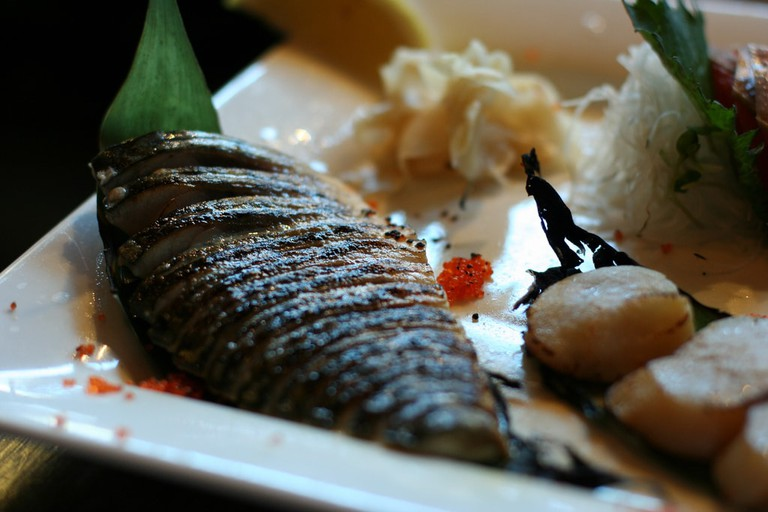 Fish and scallops © Geoff Peters / Flickr
