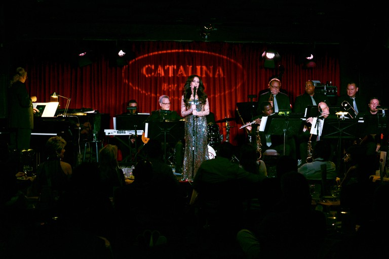 Deborah Silver's performance at Catalina Jazz Club Bar & Grill in Hollywood, California.